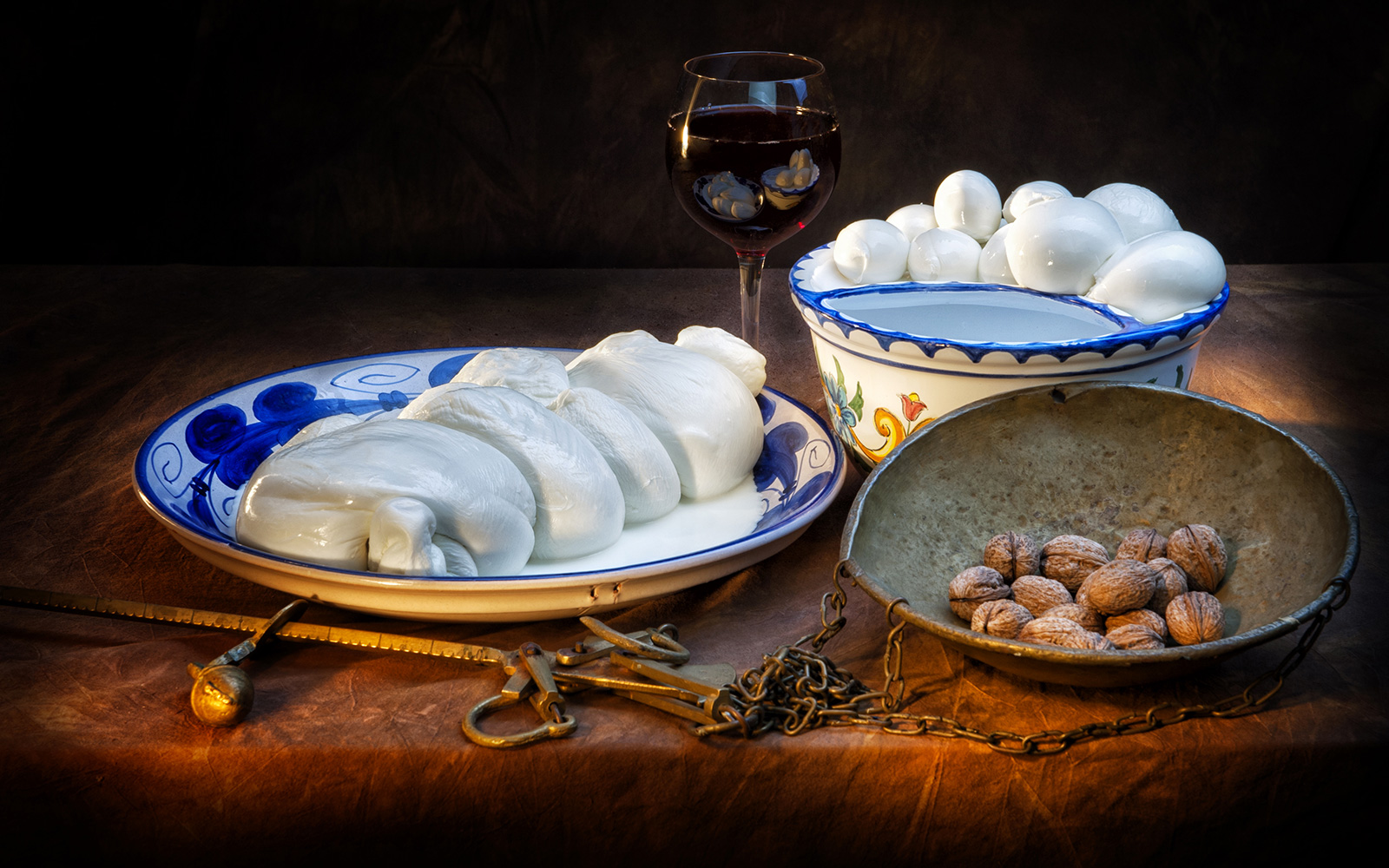 Mozzarella di Bufala - Fattoria S. Lucia